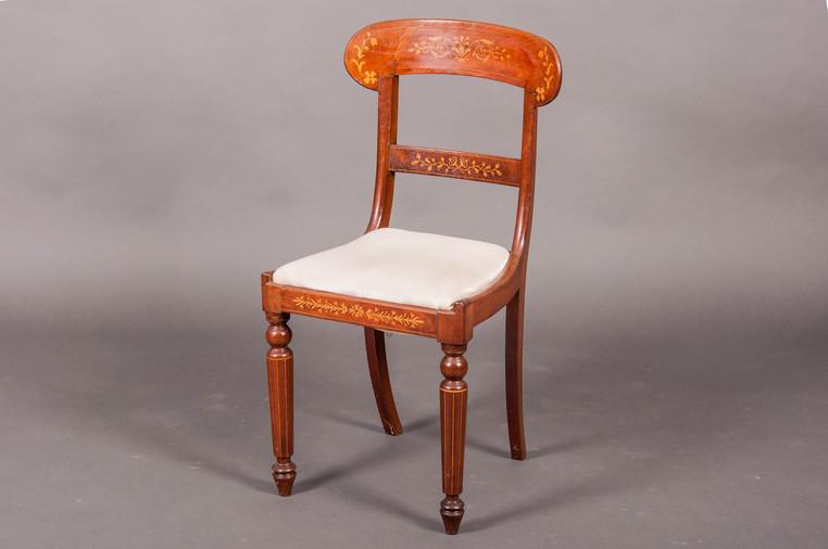 chaise charles x acajou galerie richard juy mobilier antiquit s et pendules d 39 poque. Black Bedroom Furniture Sets. Home Design Ideas
